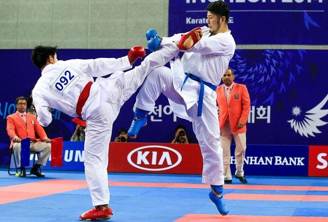 یک طلا، یک نقره و 4 برنز سهم کاراته کاهای ایران از روز دوم رقابتهای قهرمانی آسیا