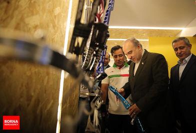 بازدید وزیر ورزش و جوانان از تمرینات ملی پوشان تیرو کمان/ ببینید