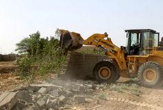 رفع تصرف اراضی ملی و کشف چوب غیرمجاز در گیلان