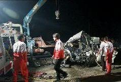 3 کشته و 13 مجروح در تصادف زنجیره ای در فارس