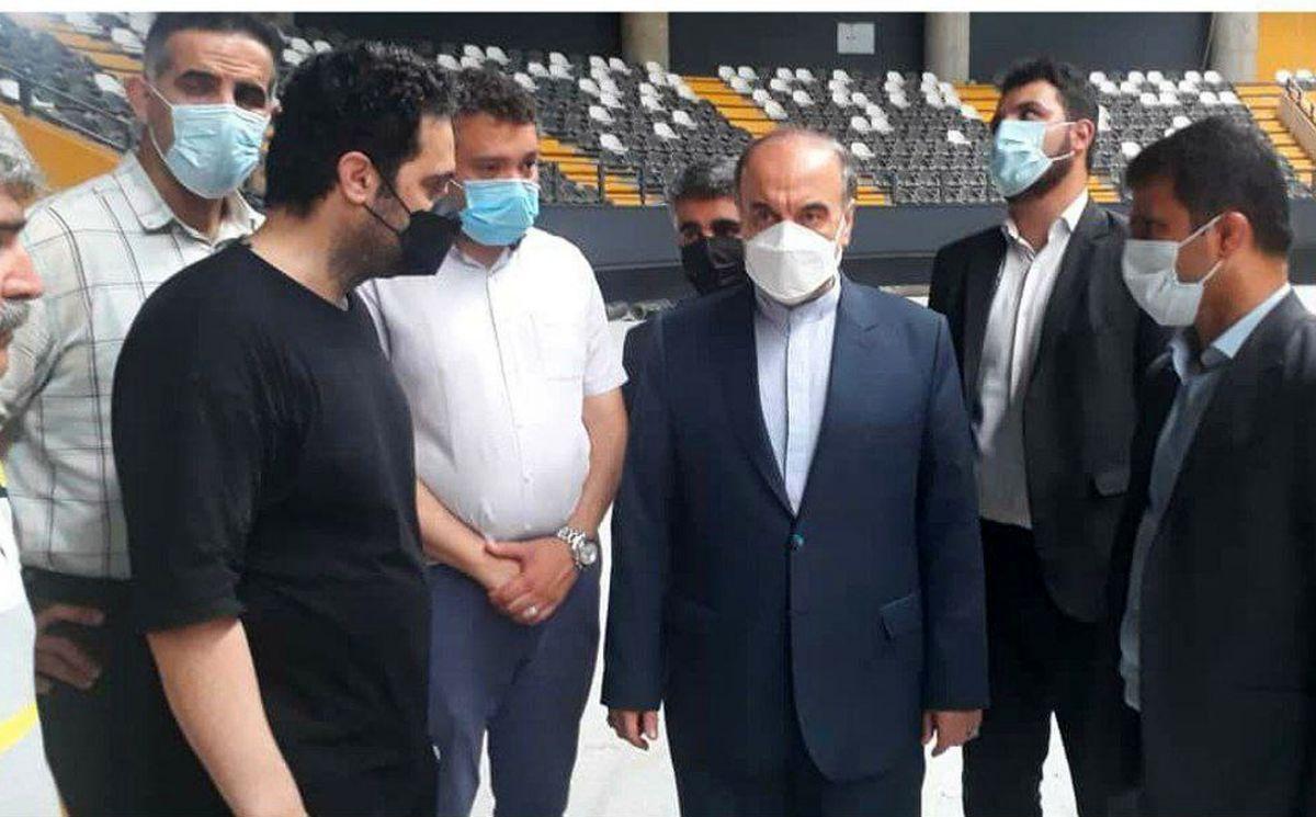 سفر وزیر ورزش و جوانان به استان مازندران