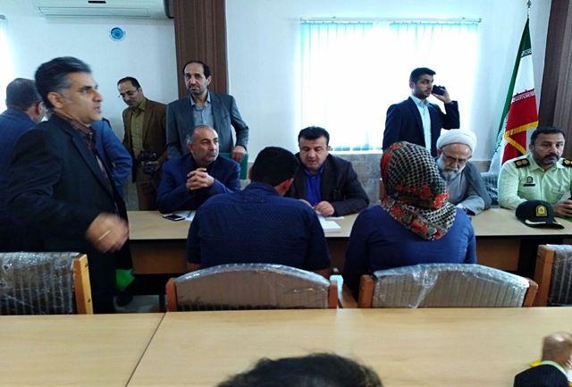 استاندار مازندران، مدیران را دستهجمعی به دیدار سیل زدگان برد