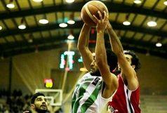 شکست بسکتبال ذوبآهن از اکسون تهران