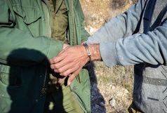 دستگیری شکارچی غیرمجاز در شهرستان مهرستان