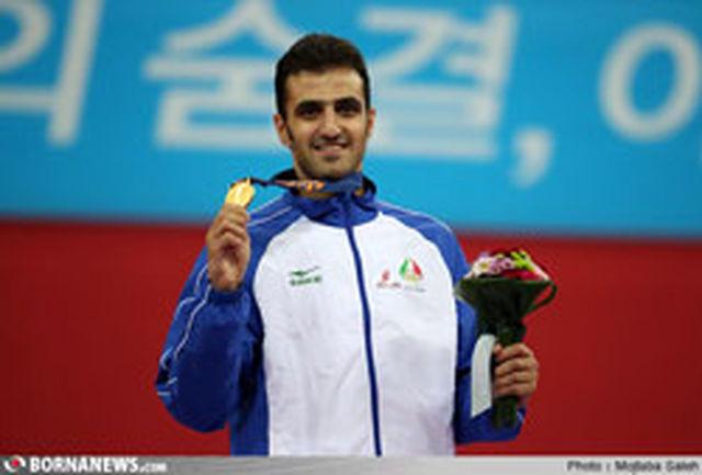 پای حجی زواره روی یازدهمین طلای ایران نشست