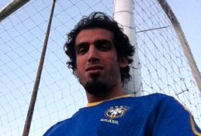 حامد حدادی فوتبالیست شد!