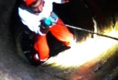 سقوط یک زن 53 ساله به داخل چاه