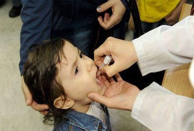 پایان مرحله اول عملیات واکسیناسیون تکمیلی فلج اطفال در سیستان و بلوچستان