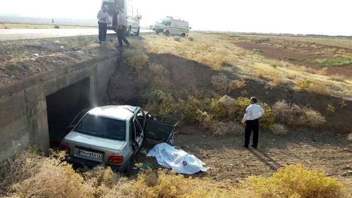 واژگونی خودرو در سبزوار یک کشته بر جای گذاشت