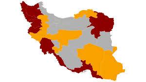 روند نزولی ابتلا به کرونا در یک استان و روند صعودی در 9 استان کشور