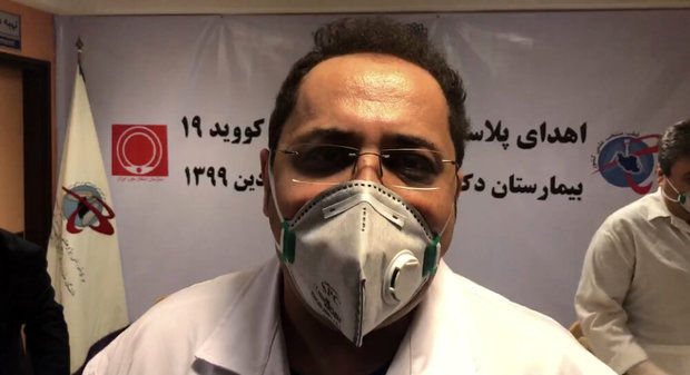 یکی از مسئولین بیمارستان مسیح دانشوری: داروی کرونا در ایران وجود دارد/ در درمان کرونا خیلی پیشرفت کرده ایم/ باکس دارویی ما قطعا بیشتر از آمریکا است