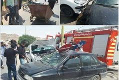 کشته وزخمی شدن دو پاکبان در خرم آباد
