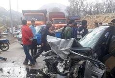 راننده خسته 2 نفر را به کام مرگ فرستاد