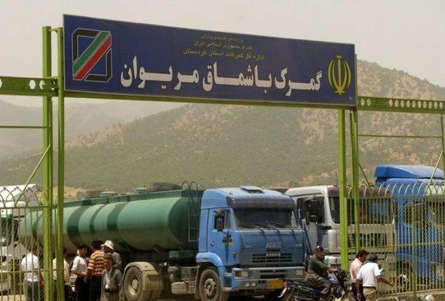 بیش از 1000 کامیون ترانزیت در راه باشماق