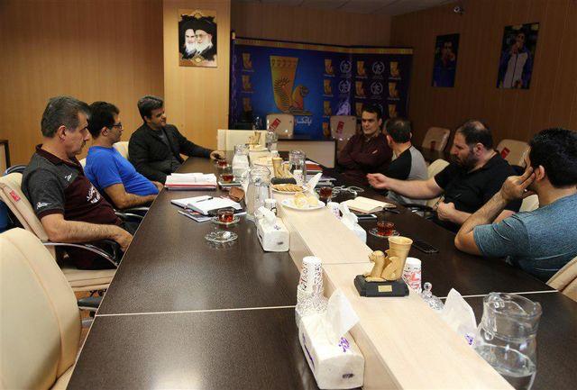 جلسه هماهنگی آماده سازی تیم ملی کشتی بزرگسالان برگزار شد