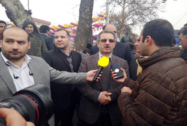 استاندار تهران: مردم با حضور در راهپیمایی ٢٢ بهمن وحدت خود را نشان می دهند