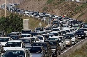 اعمال محدودیت ترافیکی در جاده چالوس در روز جمعه 22 آذرماه
