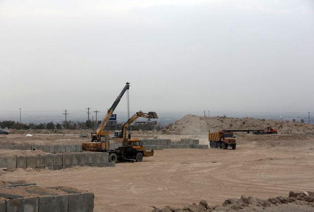 نصب بیش از ۴هزار قطعه باکس قبر بتنی در وادی رحمت تبریز