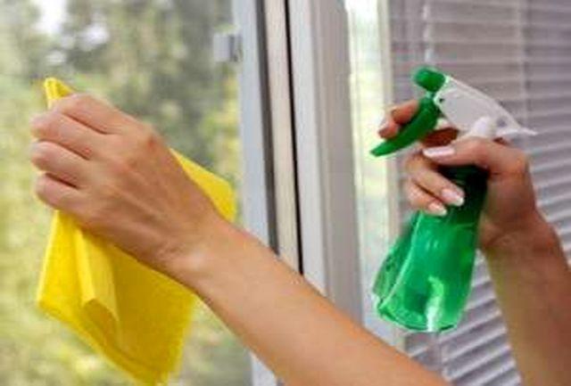 نحوه صحیح پاک کردن انواع شیشه و پنجره