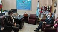 مدیرعامل شرکت آب و فاضلاب با مدیرآموزش و پرورش خوی دیدار کرد