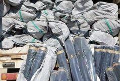شناسایی و کشف کامیون حامل محموله 5 میلیاردی پارچه قاچاق در
