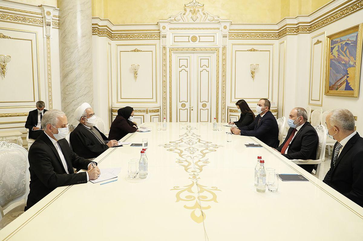 دیدار دادستان کل کشور با نخستوزیر ارمنستان