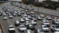 تردد  روان در محورهای هراز و فیروزکوه/ ترافیک در محور چالوس سنگین است