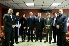 سلطانیفر با رییس بخش ورزش و جوانان یونسکو دیدار کرد