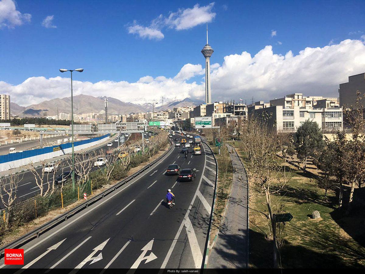 کیفیت هوای تهران سالم است