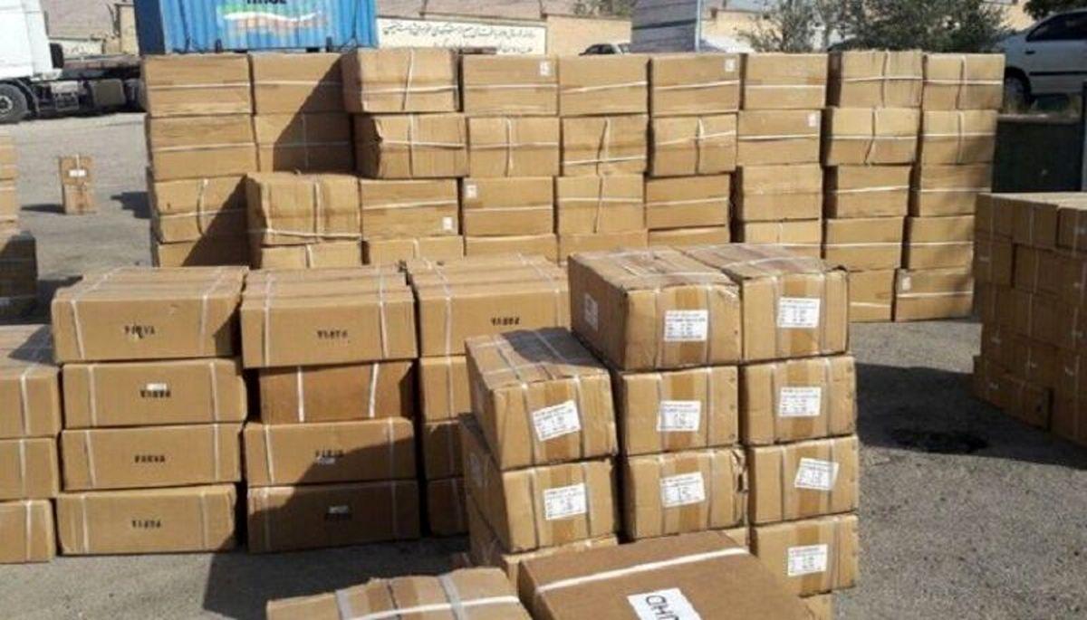 کشف 5 میلیاردی کالای قاچاق در تهران