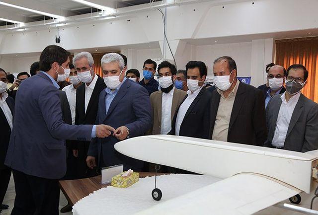 رونمایی از محصولات فناورانه دانشگاه تبریز با حضور معاون علمی رییسجمهور