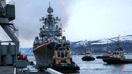 پهلوگیری ناوگان دریایی روسیه در چابهار