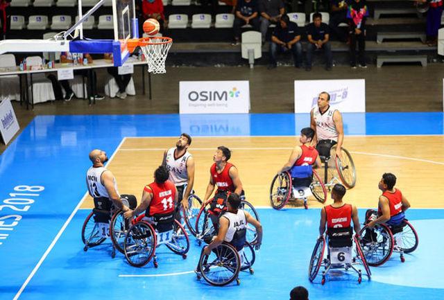 تیم ملی بسکتبال باویلچر ایران از سد عراق گذشت