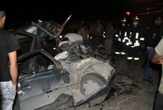 ۱۴ کشته و زخمی در تصادف زنجیرهای هولناک