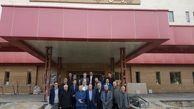 بازدید رئیس سازمان نظام پزشکی کشور از بیمارستان امید ارومیه