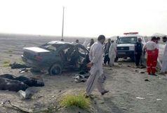 تصادف در مسیر زاهدان - خاش سه کشته برجا گذاشت