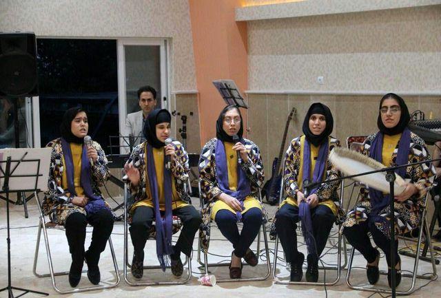 اجرای ارکستر ملی معلولین(لگاتو)، با حضور گروه آوای همدم
