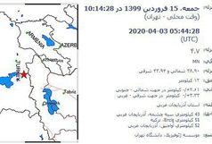 زلزله ترکیه هیچ خسارتی در آذربایجانغربی نداشت