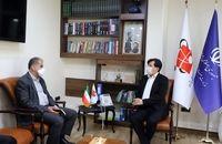 گسترش همکاری های صندوق حمایت از صنایع پیشرفته و سازمان فضایی ایران