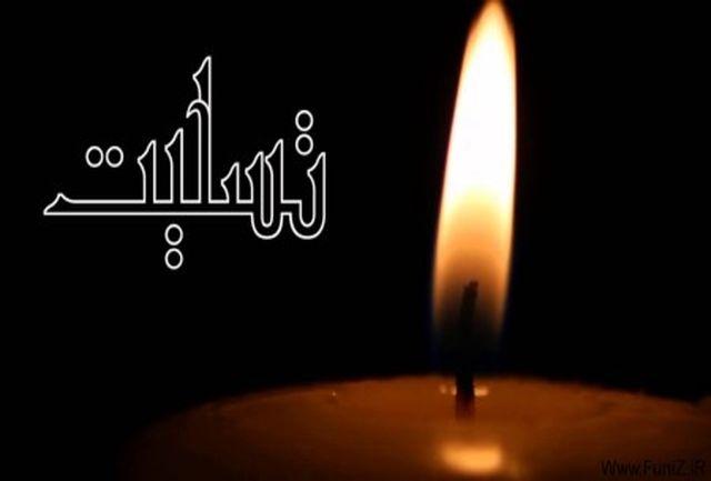 شهردار تبریز درگذشت مدیرکل فرهنگ و ارشاد اسلامی را تسلیت گفت