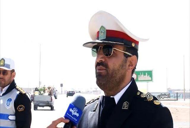 اثرگذاری مثبت افتتاح آزادراه شرق اصفهان در کاهش ترافیک جادهای استان