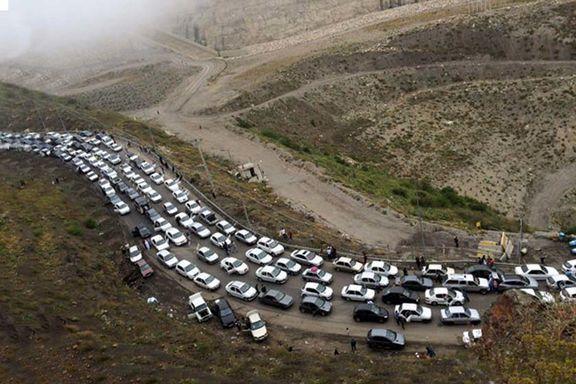 جزییات کامل ترافیک سنگین و نیمه سنگین در جاده های شمالی!