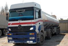 توقیف کامیون تانکردار با 22 هزار لیتر سوخت قاچاق