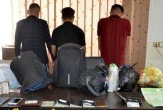 اعضای باند زور گیری و سرقت از مسافران آبادان دستگیر شدند