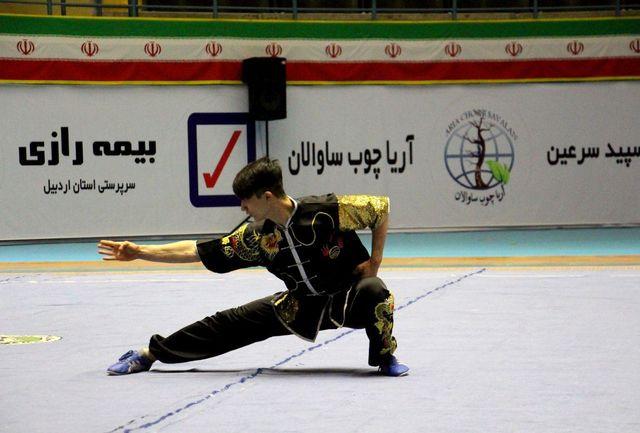 4 مدال سهم آذربایجانغربی از مسابقات ووشو قهرمانی بزرگسالان کشور