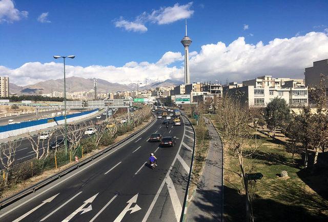 کاهش کیفیت هوای پایتخت