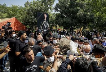 تشییع و خاکسپاری پیکر مرحوم سیروس گرجستانی