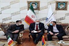 وزیر اقتصاد ارمنستان وارد تهران شد
