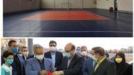 افتتاح دو سالن ورزشی چند منظوره خصوصیساز در مشهد