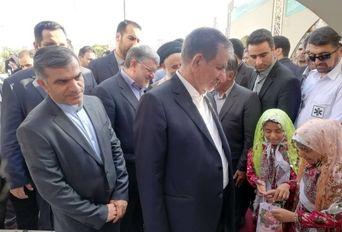 حضور معاون اول رییس جمهوری در همایش روز ملی روستا و عشایر